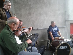 Leeds Céilí Band Practice All Ireland Fleadh Sligo 2015