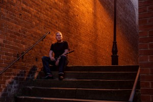 Before sunrise in Stockport. Photo shoot with Simon Buckley